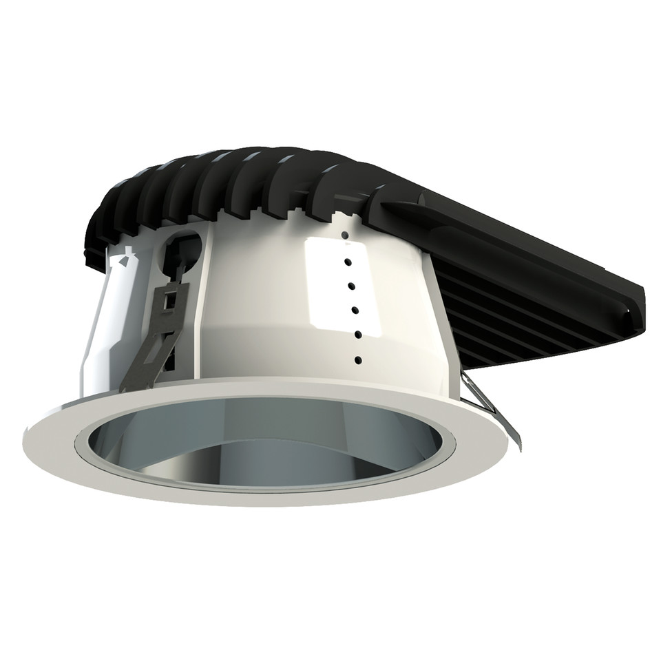 REELTECH Large recessed LED downlight light dali dimmable emergency 0 10v wireless lighting control