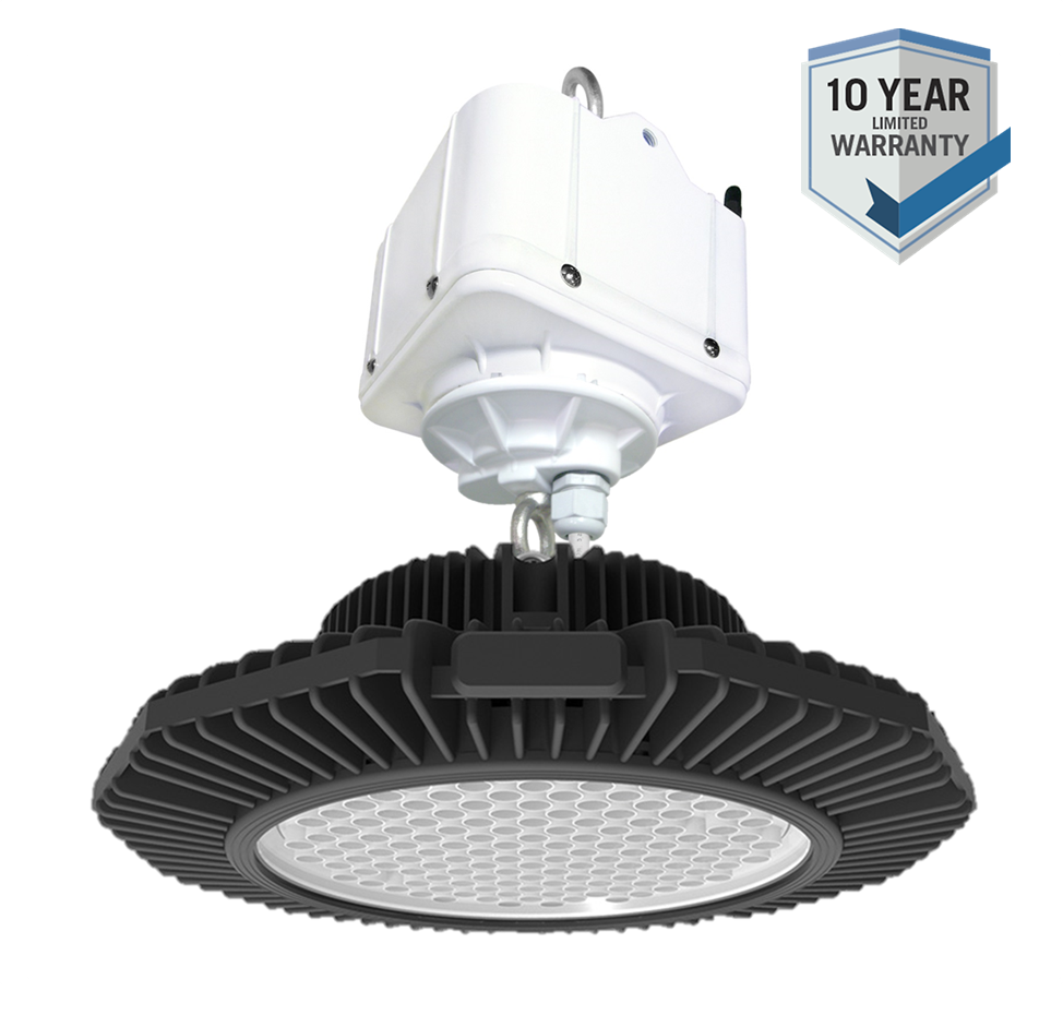 REELTECH CSL combined LED highbay and lift 10 year warranty